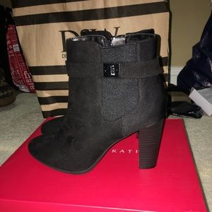 3bca5a5a90d ... Kelly   Katie black ankle boots ...